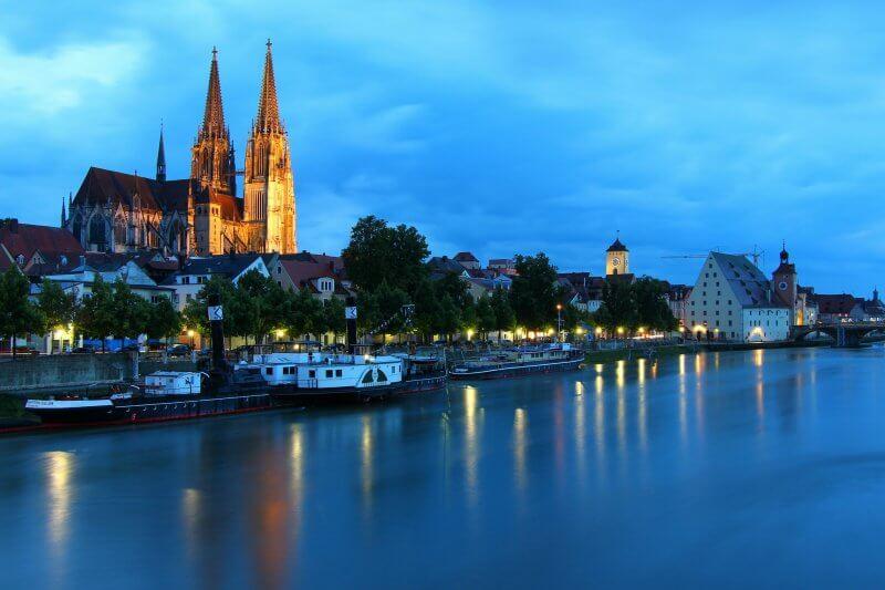 Вид на Регенсбург