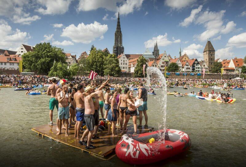 Фестиваль на озере