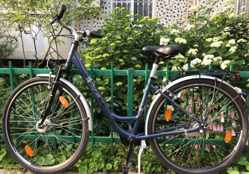 Велосипед в Меммингене