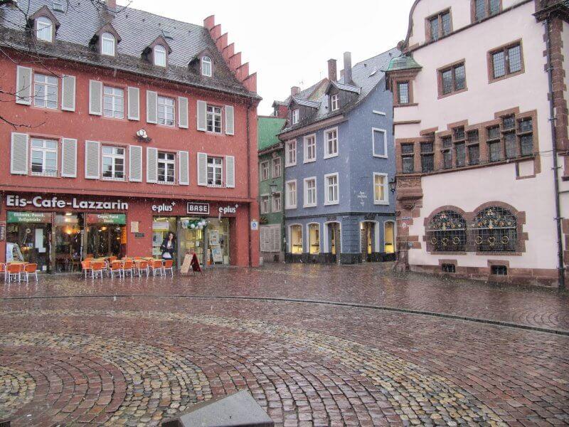 Кафе во Фрайбурге