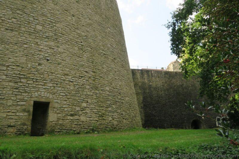 Вход в замок Шпаренбург