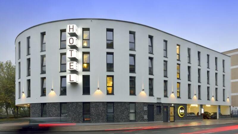 Отель в Вуппертале