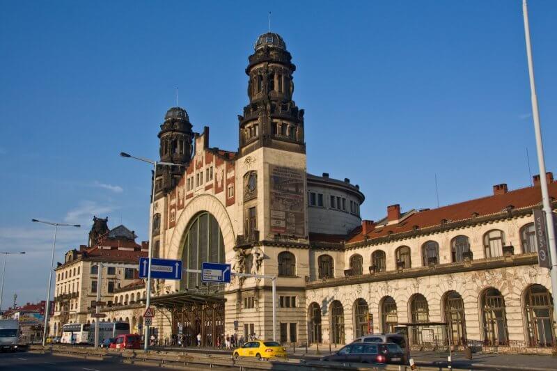 Центральный ж/д вокзал Праги