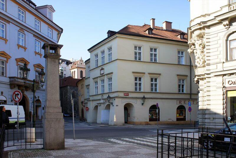Дворик в Праге