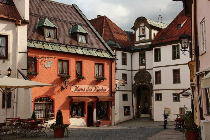 Старый город Фюссена