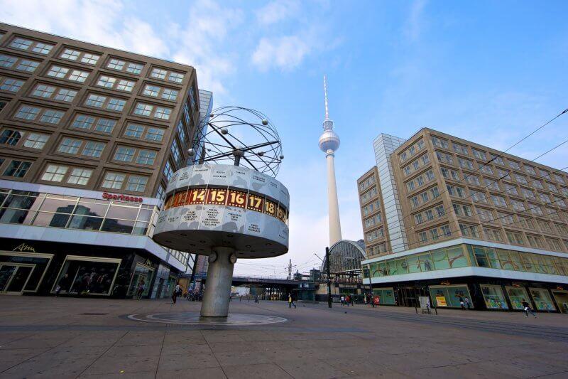 Александрплатц в Берлине