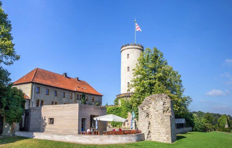 Вид на замок Шпаренбург