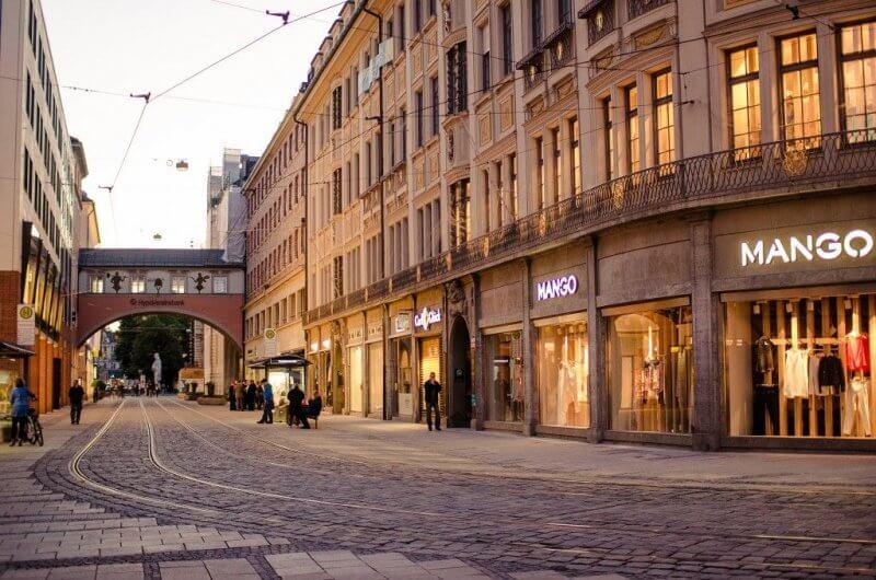Улица Maximillianstrasse