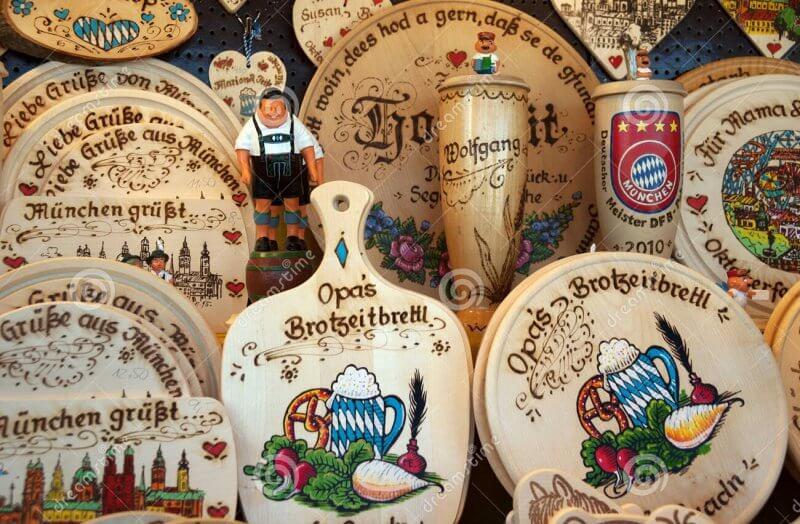 Сувениры на Октоберфесте