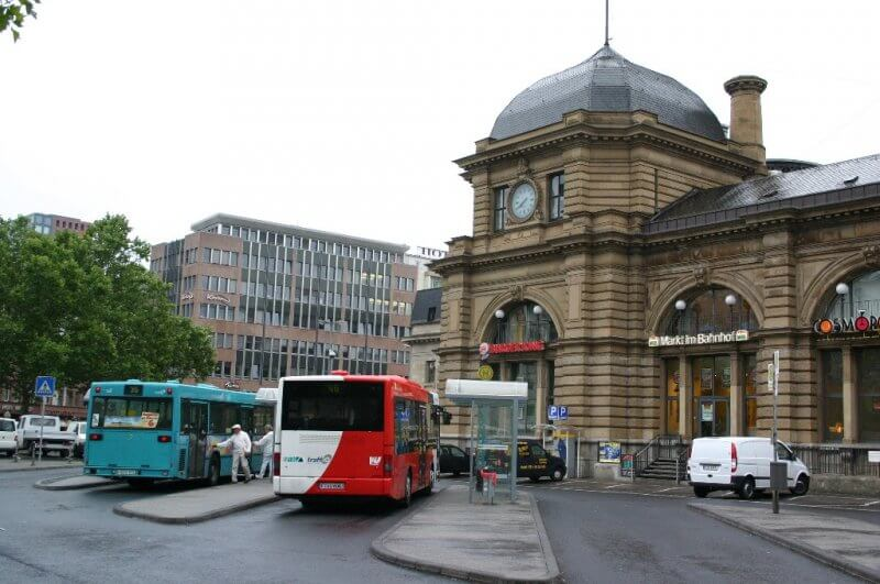 Автовокзал Франкфурта-на-Майне