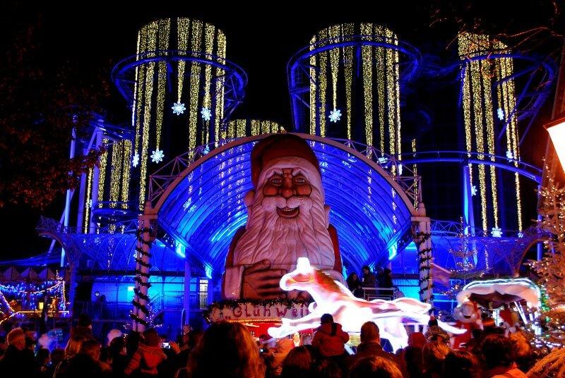 Новогоднее шоу в Европа-парке