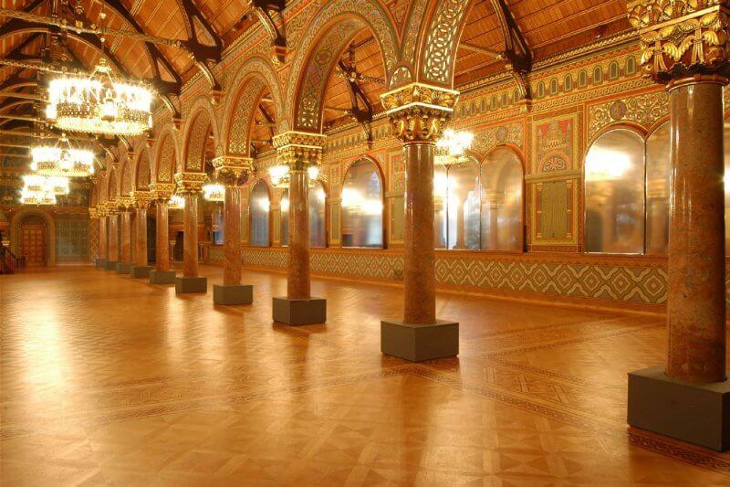 Замок Данквардероде внутри