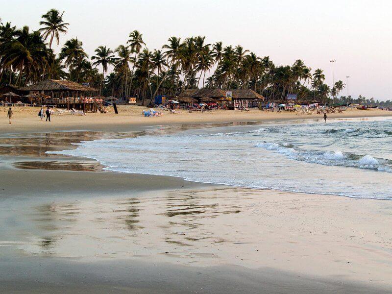Пляж Колва в Гоа
