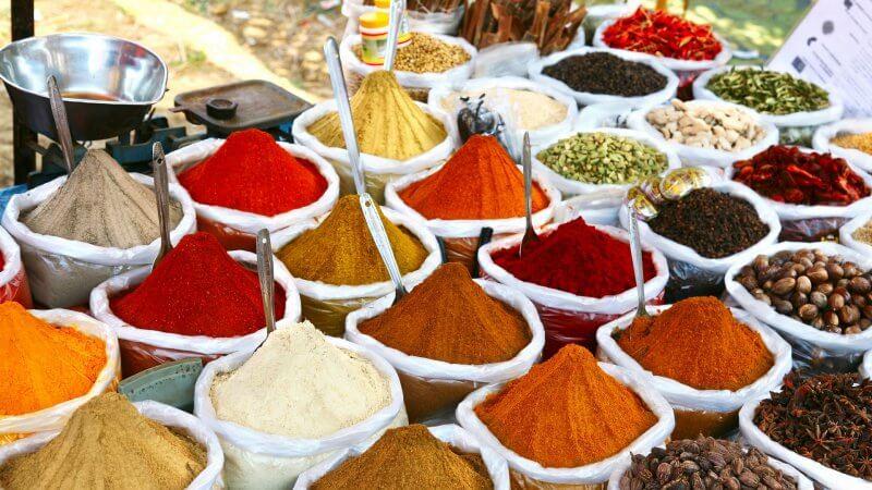 Специи в Индии