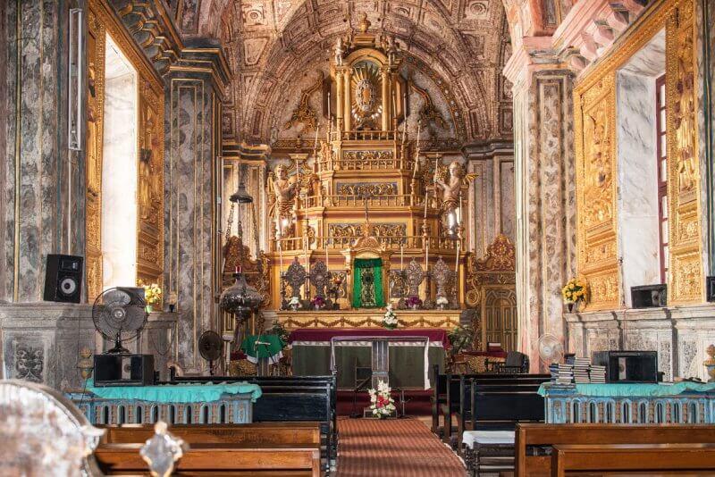 Церковь Святой Екатерины внутри
