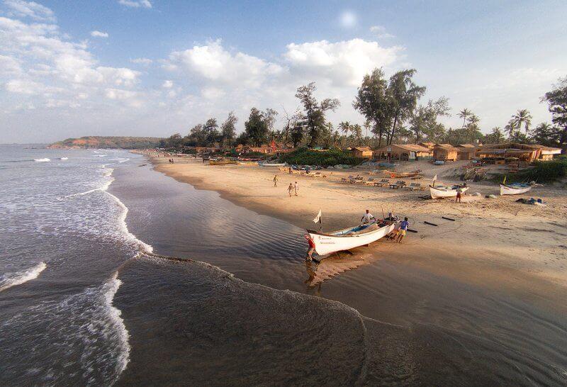 Вид на пляж Арамболь
