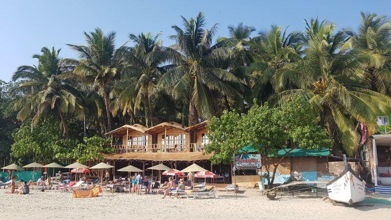 Бунгало на пляже Палолем
