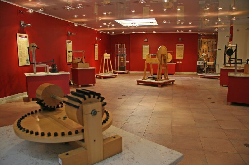 Зал в Национальном музее науки, технологий и космоса
