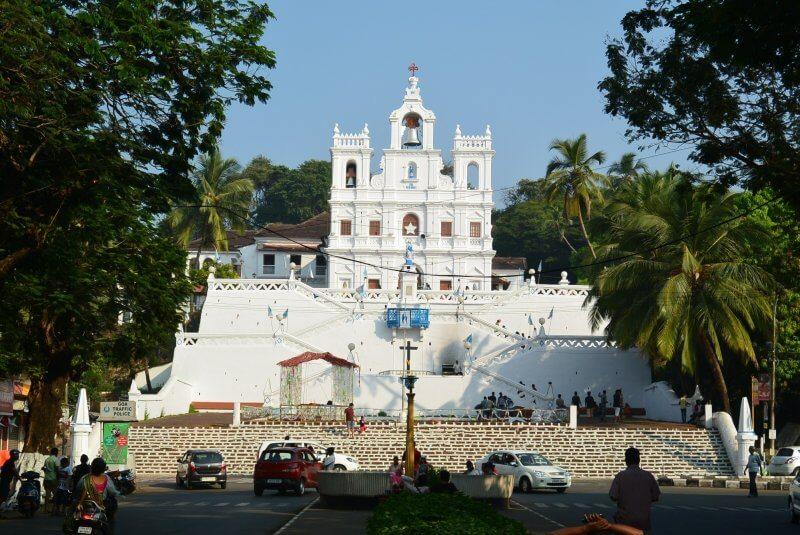 Храм Божией Матери Непорочного Зачатия в Индии