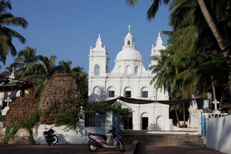 Католическая церковь Св. Алексия в Калангуте