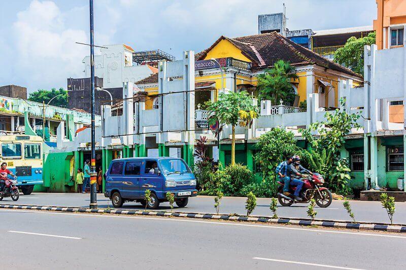 Улица в Панаджи