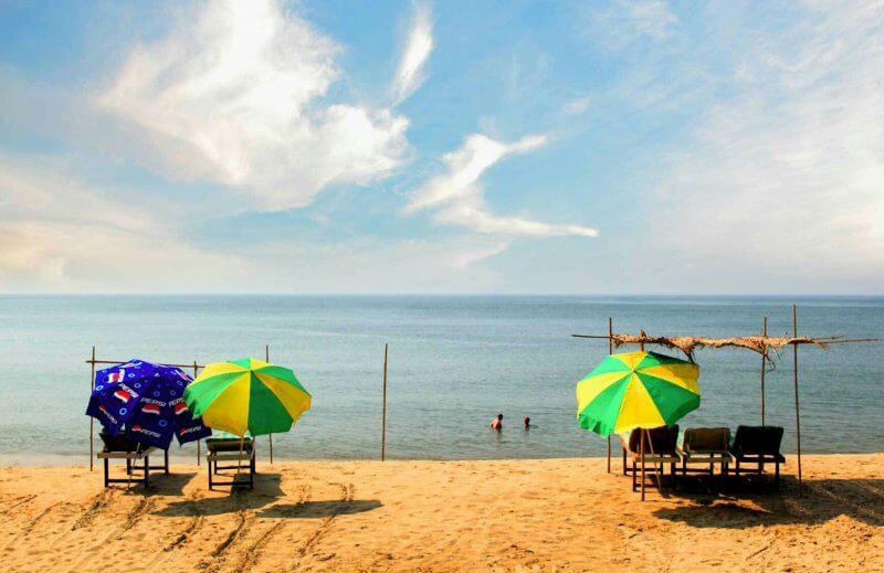 Вид на пляж Бага