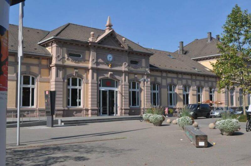 Железнодорожный вокзал в Баден-Бадене