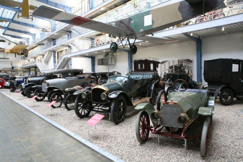 Технический музей Брно внутри
