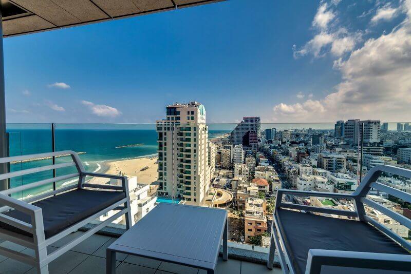 Вид из Royal Beach Hotel Tel Aviv by Isrotel ExclusiveCollection