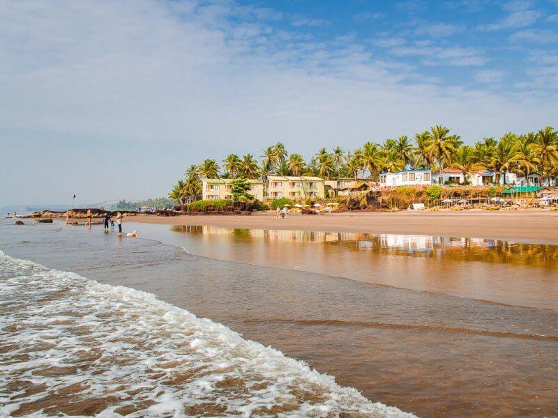 Вид на пляж Ашвем