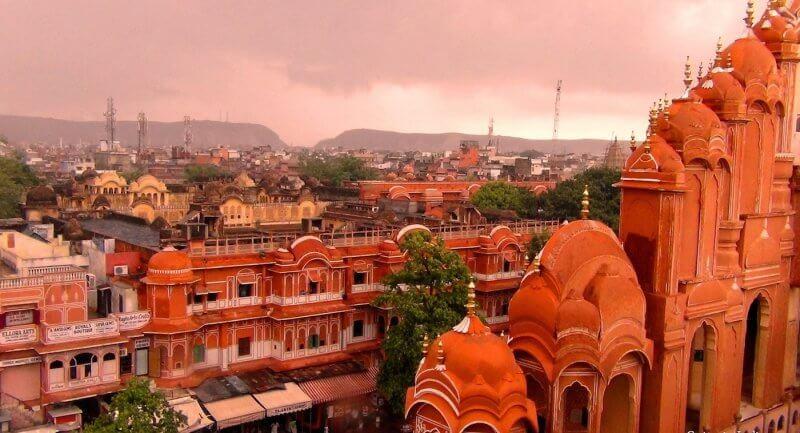 Розовый город Джайпур