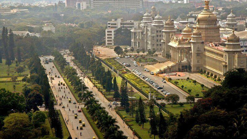 Вид на Бангалор