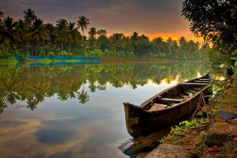 Вид на штат Керала