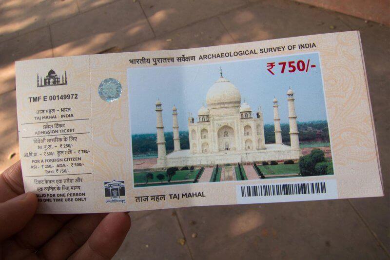 Билеты в Тадж-Махал