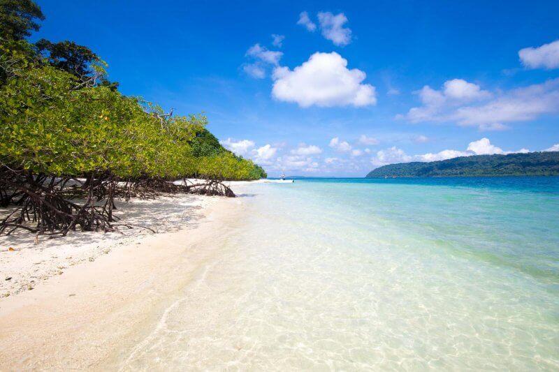 Пляж на Андаманских островах