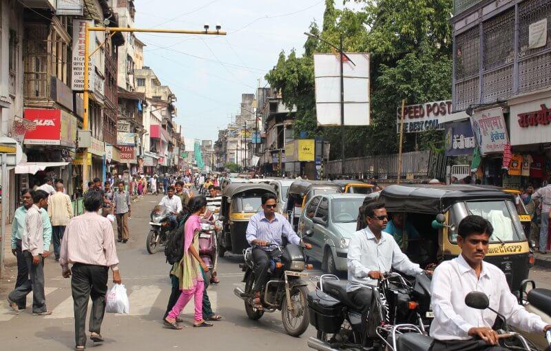 Торговая улица Лакшми