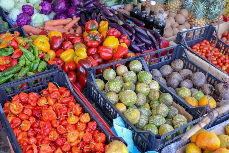 Фрукты и овощи в Пуне