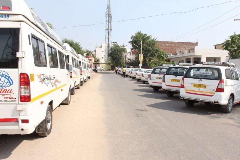 Общественный транспорт в Джайпуре
