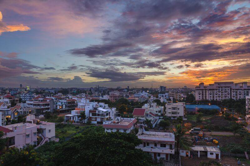 Вечерний Бангалор