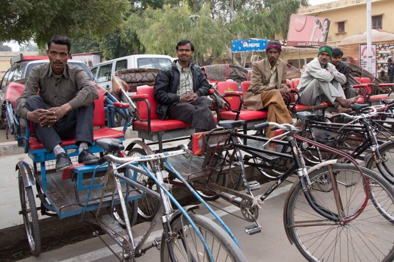 Авторикши в Джайпуре