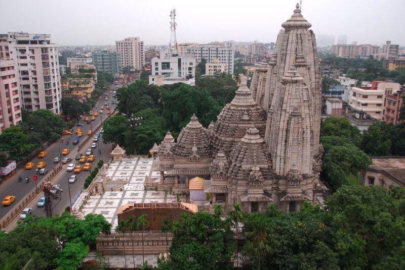 Вид на город Калькутта сверху