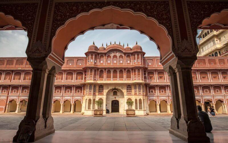 Дворцовый комплекс в Джайпуре