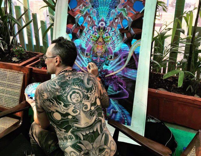 Участник Goa Tattoo Festival
