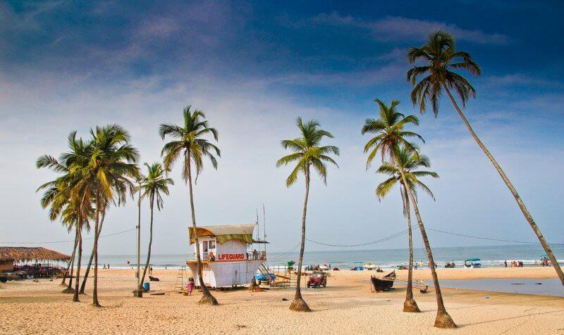Пляж в Южном Гоа