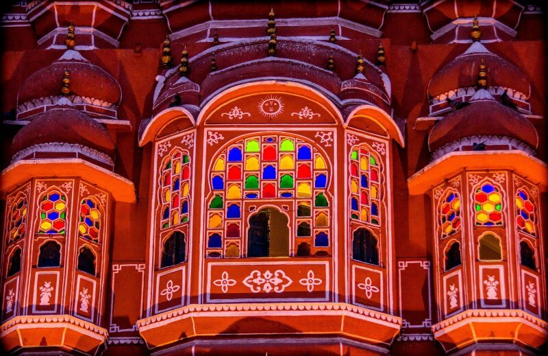 Окна дворца Ветров