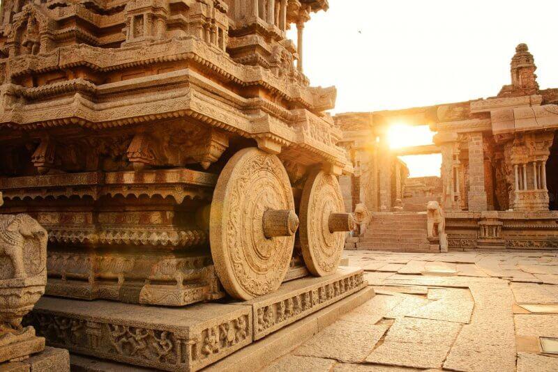 Элементы храма Солнца в Конараке