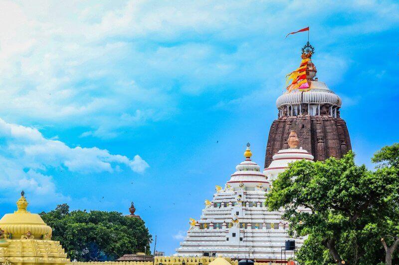 Крыши храма Джаганнатхи