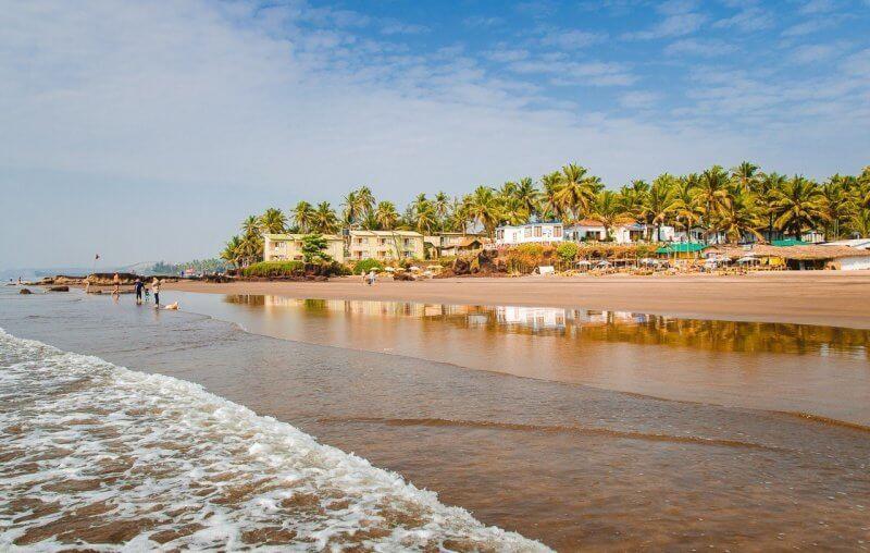 Пляж в Северном Гоа