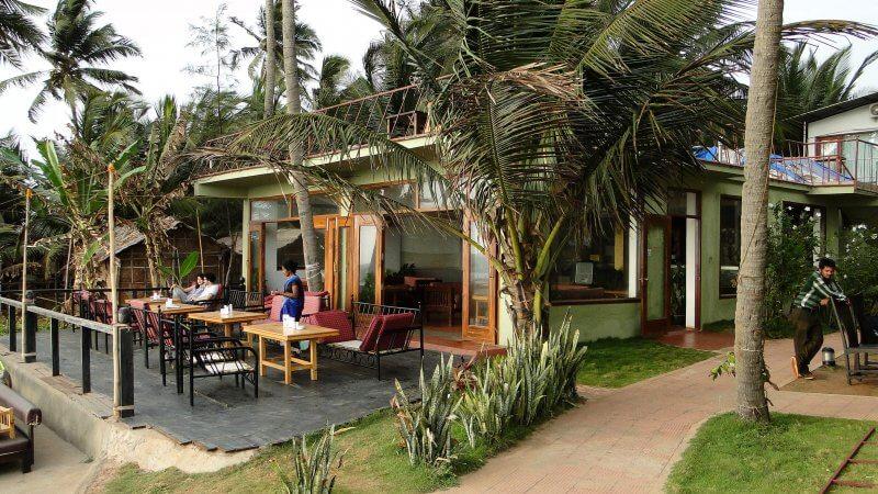 Кафе на курорте Ашвем