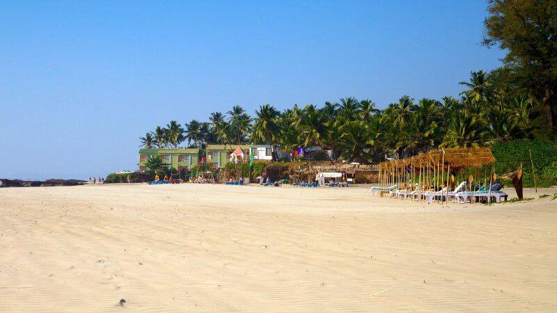 Пляж на курорте Ашвем